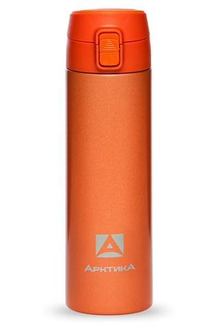 Термос (сититерм-вакуумный) Арктика (0,5 литра),оранжевый