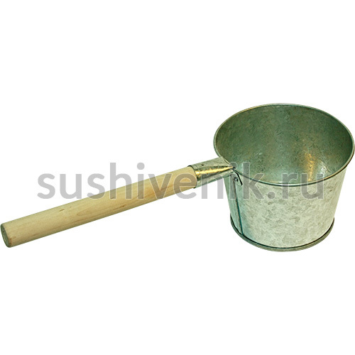 Ковш оцинкованый банный, 2 л
