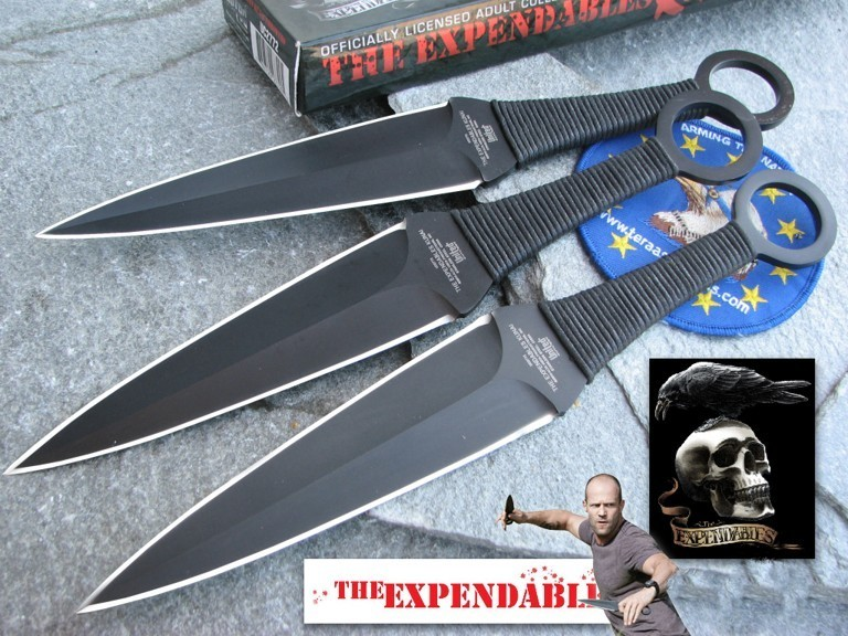 The Expendables - Kunai 3-Piece Thrower