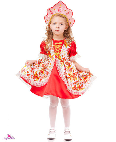Карнавальный костюм детский Царевна