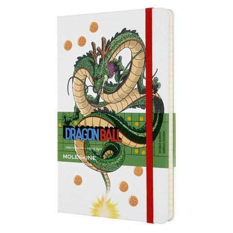 Блокнот Moleskine LIMITED EDITION DRAGONBALL LEDGQP060C Large 130х210мм 192стр. линейка твердая обложка Dragon