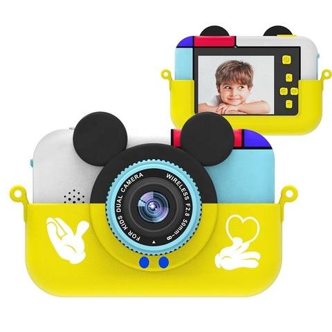 Фотоаппарат детский SmileZoom Микки Желтый 28 Мп