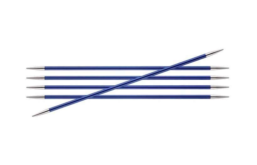 Спицы KnitPro Zing чулочные 3,75 мм/20 см 47038