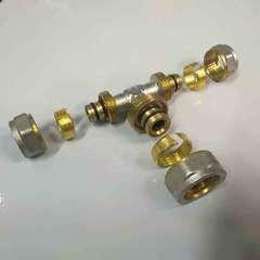 тройник для металлопластиковых труб