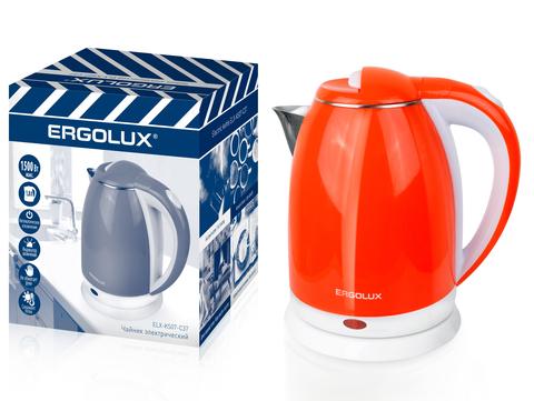 Чайник Ergolux ELX-KS07-C37 красный