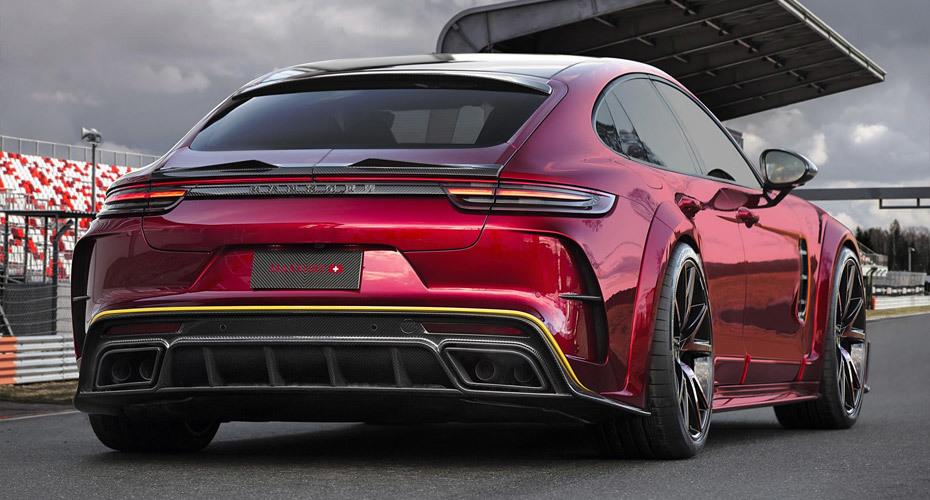 Обвес Mansory для Porsche Panamera 971 2017+
