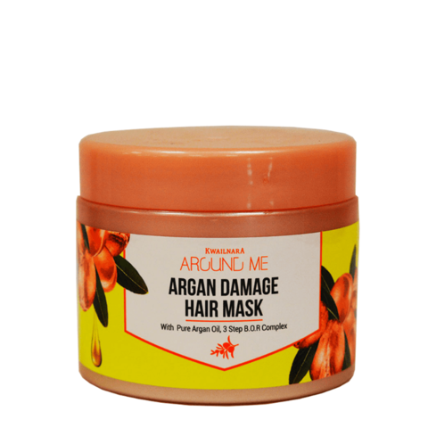 Маска для волос с аргановым маслом Welcos Around me Argan Damage Hair Mask,  300гр