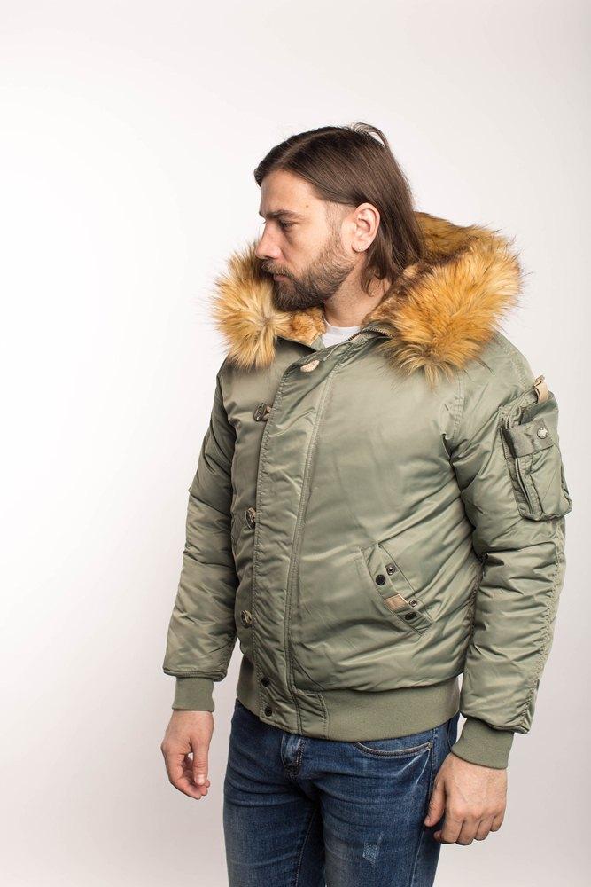 Куртка Аляска N-2B  Military Denali 2020 (с. оливковая - olive)