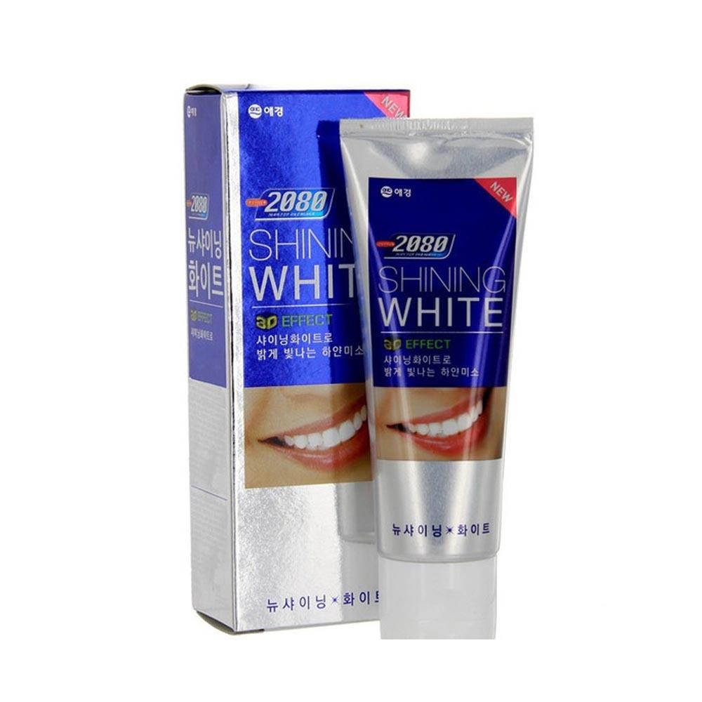 Зубная паста 2080 Отбеливающая Сияющая Белизна