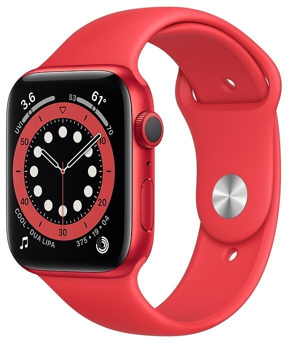 Apple Watch Series 6 Часы Apple Watch Series 6 GPS 44mm Aluminum Case with Sport Band (PRODUCT)RED umnye-chasy-apple-watch-series-6-gps-44mm-black.jpg