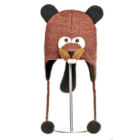 Картинка шапка с ушами Knitwits Barkley The Beaver  - 1