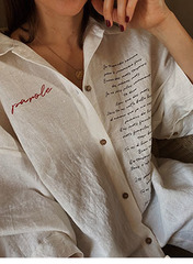 Рубашка оверсайз «PAROLE»