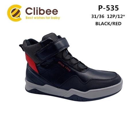 Clibee P535 Black/Red 31-36