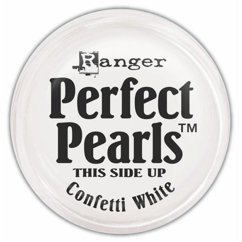 Пигментный порошок  Ranger Perfect Pearls -Confetti White