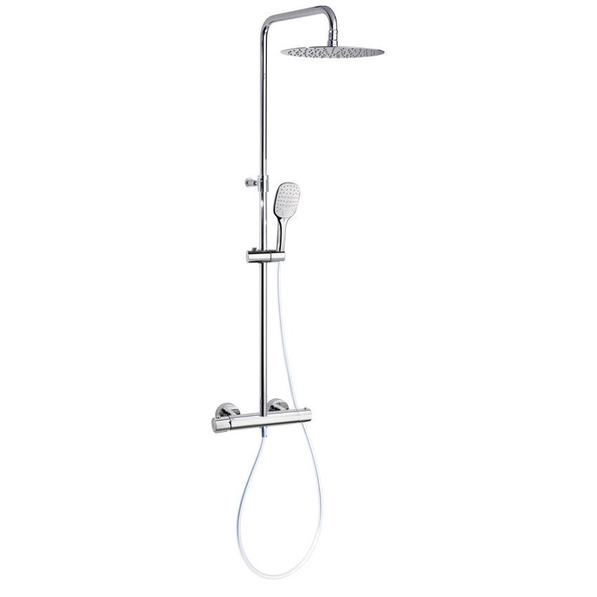 Душевая система с термостатом и тропическим душем для ванны URBAN CHIC 215401RM300