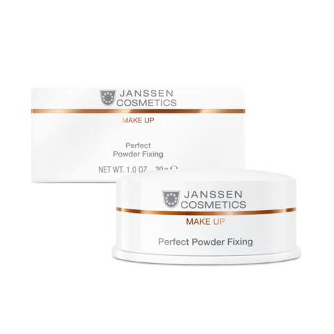 JANSSEN COSMETICS Специальная пудра для фиксации макияжа | Perfect Powder Fixing