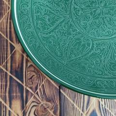 Ляган узбекский Зеленый карандаш, 42см