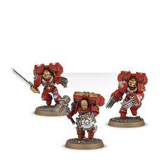 Blood Angels Vanguard Veteran Squad