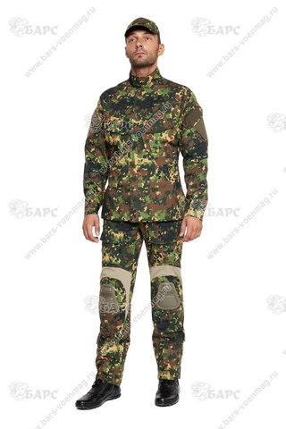 Камуфляжный костюм «Гром» (С наколенниками) Излом
