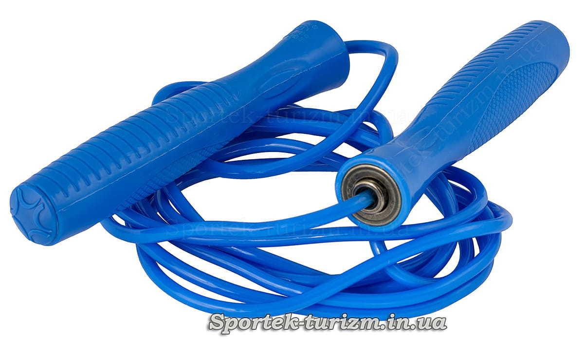 Скакалка на подшипниках с пластиковым шнуром 2.75 м