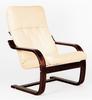 Кресло «Сайма», ткань крем-брюле, каркас венге структура, GREENTREE