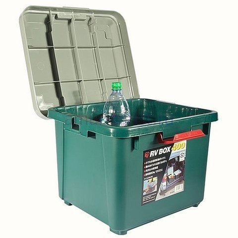 Экспедиционный ящик IRIS RV Box 400, в открытом виде.