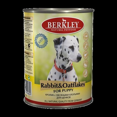 Berkley № 1 Консервы для щенков с кроликом и овсяными хлопьями