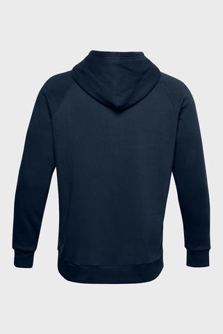 Мужское темно-синее худи UA Rival Fleece Under Armour