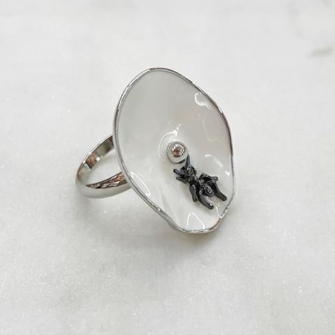 Кольцо Vi Япония эмаль