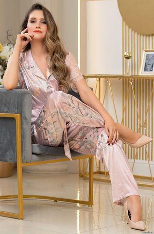 Шелковая пижама-двойка Mia Amore Милинда (70% нат.шелк)