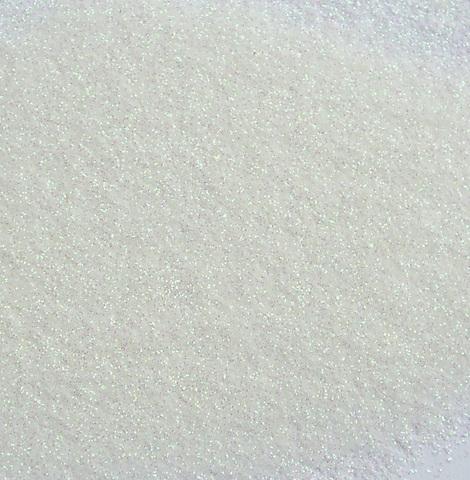 Белый, блестки (глиттер), 20гр