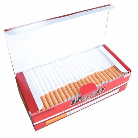 Slim! Сигаретные гильзы Rollo Red 200 шт. 6,5 mm.