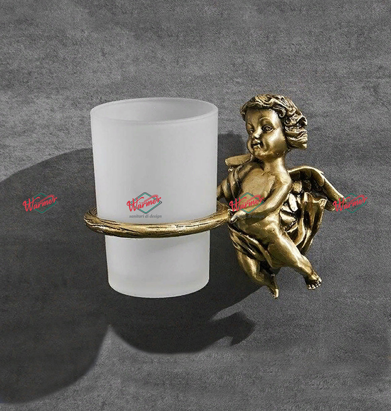 Аксессуары Стакан для принадлежностей в ванную Warmer Retro Bronze Line стакан-2.jpg