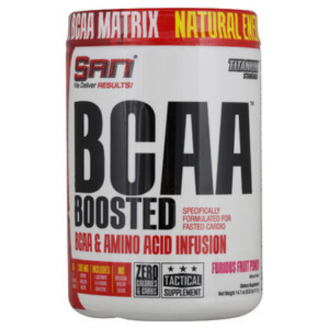 SAN BCAA Boosted (417.6 г)