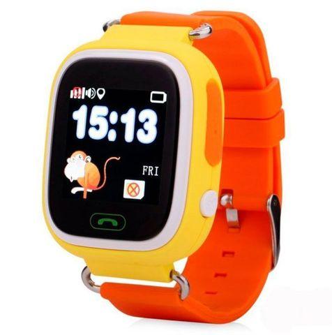 Умные детские часы с GPS трекером Smart Baby Watch Q90 цвета