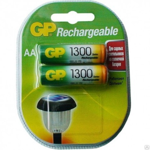 Аккумулятор GP 1300mAh