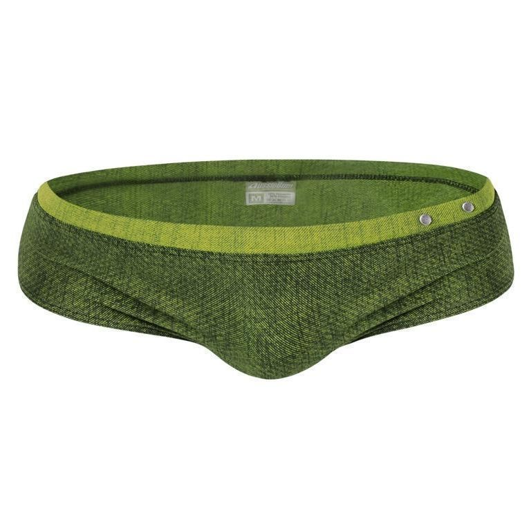 Мужские плавки зеленые AussieBum Glaze Green