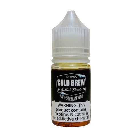 Жидкость Nitro`s Cold Brew Salted Blends Salt 30 мл White Chocolate Mocha