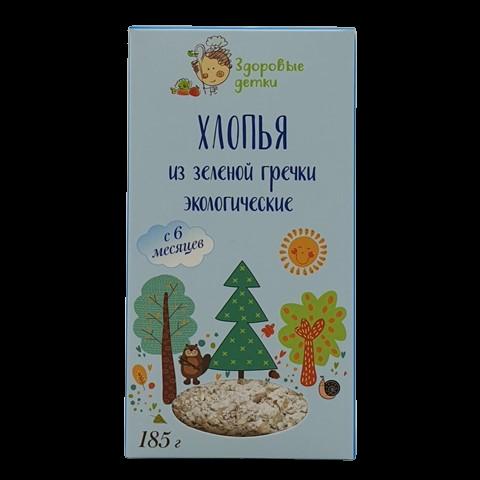 Хлопья из зеленой гречки с 6 месяцев ОРГТИУМ, 185 гр