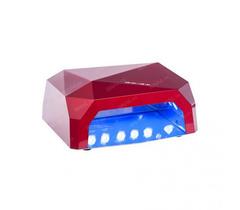 LED лампа 36вт кристалл цвет красный