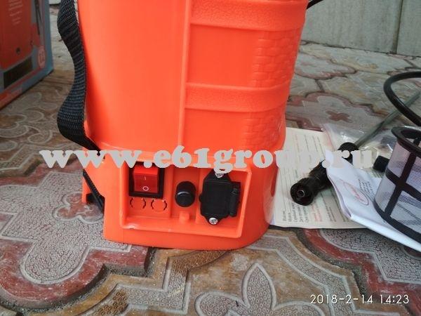 5 стоимость Опрыскиватель электрический ранцевый  Комфорт (Умница) ОЭМР-12 с регулятором мощности