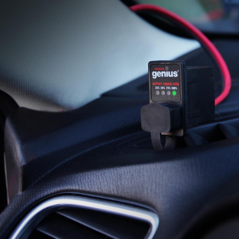 Индикатор уровня заряда АКБ X-Connect Dashmount NOCO GC016