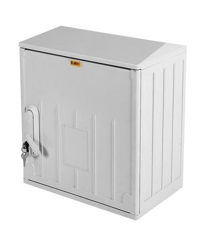 Электротехнический шкаф полиэстеровый IP54 антивандальный (В600 × Ш500 × Г250) EPV c одной дверью