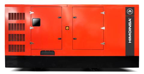 Дизельный генератор Himoinsa HSW-500 T5 в кожухе
