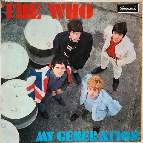 Виниловая пластинка. The Who. My Generations