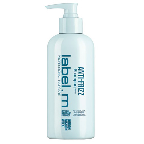 LABEL.M Разглаживающая Серия: Разглаживающий шампунь для волос (Anti-Frizz Shampoo)