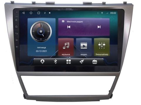 Магнитола Toyota Camry (06-12) Android 10 4/64GB IPS DSP 4G модель CB-2018TS10