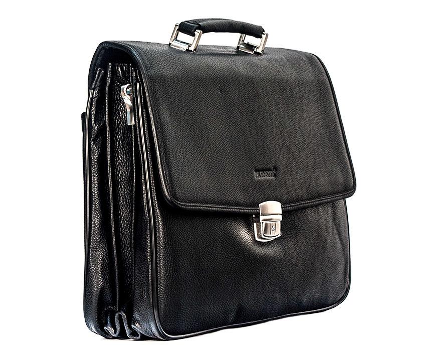 Мужской портфель из кожи Prensiti 09001