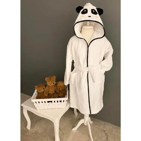 Халат детский махровый Panda (серый) La Villa de Paris
