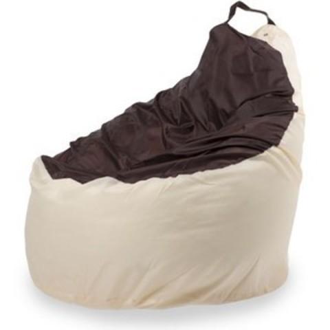 Кресло-мешок «Комфорт» Бежево-коричневый